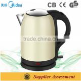 Stainless Steel Brew Kettle Midea Electric Brew Kettle Thermal Switch