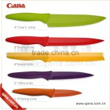 stainless steel non stick coloured kitchen knife set                                                                                                         Supplier's Choice