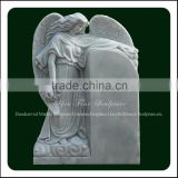 White Marble Cemetery Angel Headstones Monuments