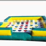 Giant inflatable twister games