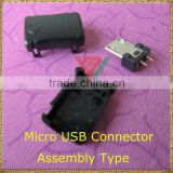 RoHS & Reach Approval Mini 4 Pin Male USB Connector