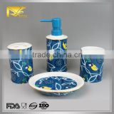 2015 new product ceramic manufacturerred bathroom set china, bamboo bathroom set, bathroom set accessories