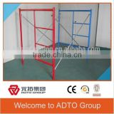 We supply Pre Galvanized Hot Dipped Galvanized Painted Mason Frame Scaffold, Ladder Frame Scaffold, H Frame Scaffold                                                                         Quality Choice