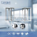 China manufacturer Tansive construction integrated window door curtain wall system solution