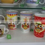 Ceramic Factory Produces Christmas Ceramic Tableware, Mugs, Bowl, Cup with saucer, lid, filter