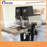 Double head Electric Stapler Saddle Stitching Machine