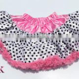 Girls Ballet Tutu Skirt Baby Petti tutu skirt Kids fluffy Princess TUTU Skirt Light Pink With Dots