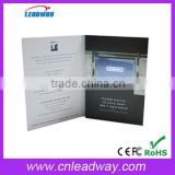 "2.4''/2.8''/3.5''/4.3'/5""/7'/10'' TFT LCD video card/video business card for advertising"