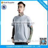 100% Cotton OEM T-shirt High Quality Fashion Plain Wholesale Bulk Custom Blank Grey T-shirt Clothing