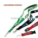 2016 Fashion polyester lanyard with ID badge holder no minimum order for event.,Screen Printing lanyard.