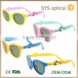 China wholesale best price kids sunglasses ,with printing in temple silicon baby sunglasses                                                                         Quality Choice