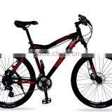"26"" inch 24speed mountain bike hydraulic dual disc brake bike for girl and boy bike ride"