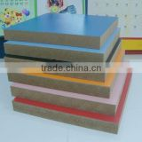 Wood Fiber Material and Indoor Usage raw mdf and melamine mdf board to make wooden furniture