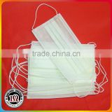 Disposable medical nonwoven face mask