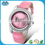 Wholesale Fashion Leather Strap Lady Hand Watch