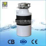 CE certificated Food Waste Garburator / Food Waste Disposal Machine For Kitchen Appliances
