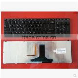 For Toshiba satellite A660 A660D keyboard US Backlight