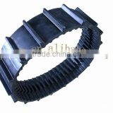 mini stair climbing machines used rubber crawler ,rubber tracks for mountain climbing machine