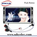 Advertising roll up display banner/7 inch retail store video player&advertising display banner(SAD0705)