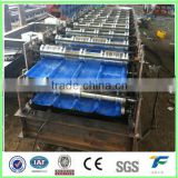 Good quality double roof tile making machine/roll forming machine price,double layer roll forming machinery