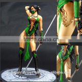 Online game characters Jade hot resin/polyresin sexy nude girls statues