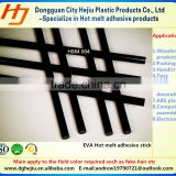 Ethylene Vinyl Acetate(EVA) base black hot melt adhesive glue stick for ABS Plastic products