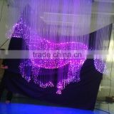 2013 Newest design modern chandelier light crystal with 45w led engine