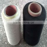 bleached white cotton yarn for weaving knitting