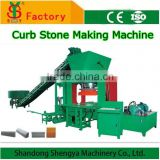 SY3000 Hydraulic press concrete curbing machine for kerb making automatic road curb making machine price