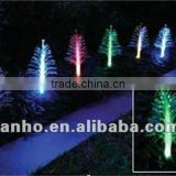 3.6 M set of 8 SOLAR powered string LED LIGHTS FIBRE fiber Tree OPTIC GARDEN