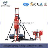 top hammer drill rig Portable electric DTH Drilling Rigs HQZ100 shallow water well drill rig
