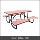 Arlau outdoor extendable garden wooden table
