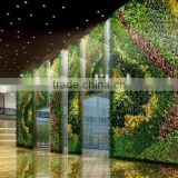 Hot sales artificial living wall,outdoor green plants,special design fake plants wall
