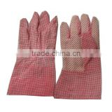 graceful red lady's garden glove/cut resistant safety glove