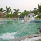 High quality customized swimming pool waterfall, swimming pool spray nozzles, spa nozzles