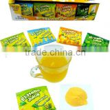Instant fruity juice candy