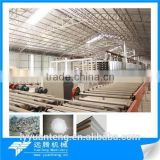 Automatic paper faced gypsum board making equipment