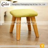 useful pretty cute Square and round shape multi colors wooden foot step stool child step stool