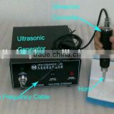 China ULTRASONIC plastic welding machine of 28KHz