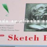 Custom size 150gsm 30 sheets oem drawing sketch pad
