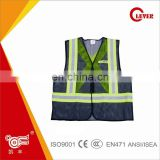 Hot Sale 3 in 1 police jacket Pro-environment Mesh Hi-vis Overall With Reflective Webbing Tape