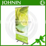 custom promotional moving display feather rolla banner stand