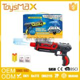 Competitive price kid toys plastic air soft bb gun with water and soft bullets