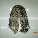 OEM & Stock Voile Scarf From Zhenbang Factory
