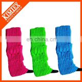 Ladies acrylic leg warmers