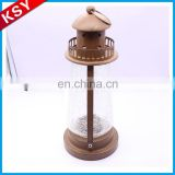Latest New Design Promotional Price Metal Tree Magic Tall Lantern Candle Holder