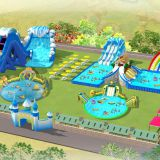 Inflatable Floating Water Park,Used Water Park Equipment,Adult Inflatable Water Park