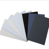 Color Aluminum Composite Panel with Gold Brush or Silver Brush