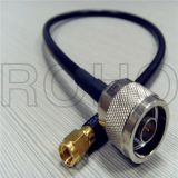 LMR195 /LMR400 /LMR240 /LMR100 Cable Straight N Male to SMA Male Connectors RF Cable Assembly