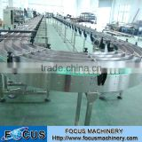 Pet Bottle Air Conveyor For Beverage Production Line